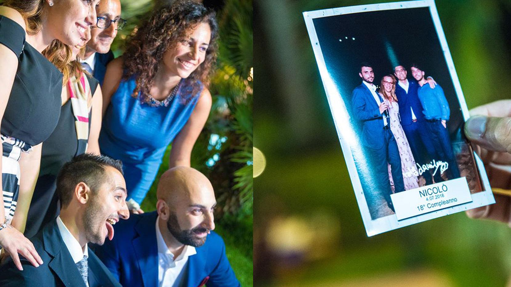 Prenota subito il tuo Happy Selfie Magic Mirror per Compleanni